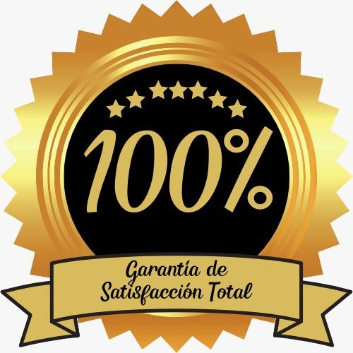 Garantia de satisfacción total