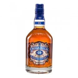 WHISKY CHIVAS REGAL 18 AÑOS GOLD SIGNATURE