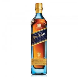 JOHNNIE WALKER WHISKY BLUE LABEL